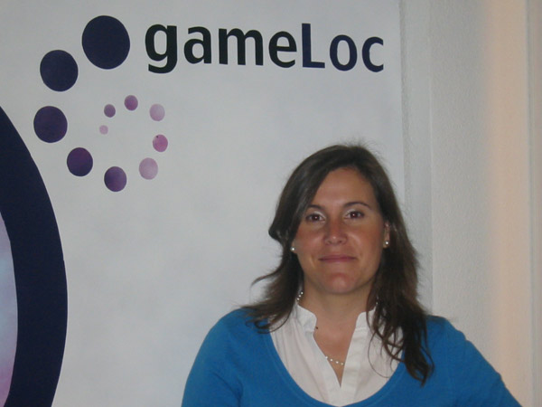 Isabel de la Mota - Localisation Manager and External Relations Manager. GameLoc